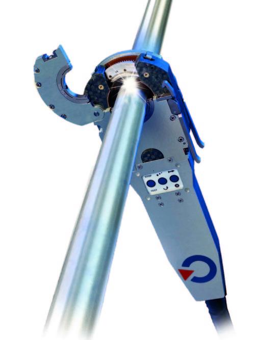 MW 65-3 Tête de soudage fermée pour le soudage de tube/tube