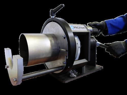 SE219 - Cтанок для разделки кромок  с пневматическим приводом