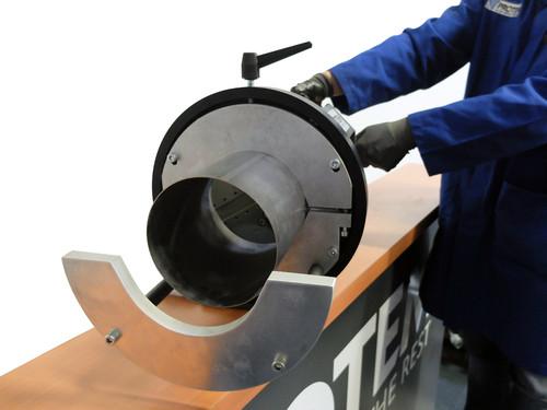 SE219E - Cтанок для разделки кромок  с электрическим приводом 220 B