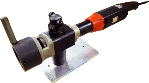 SL60 - Dresseuse de tubes à préhension extérieure avec moteur electrique