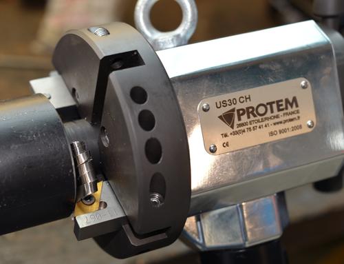 US30HY -  Chanfreineuse de tubes  avec moteur hydraulique