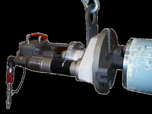 US40CA - Machine chanfreineuse de tubes avec serrage automatique