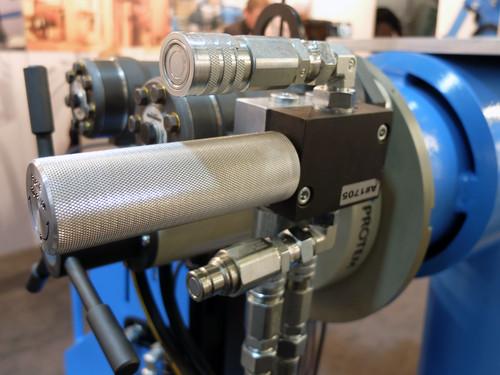 US80HY - Machine à chanfreiner les tubes avec moteur hydraulique