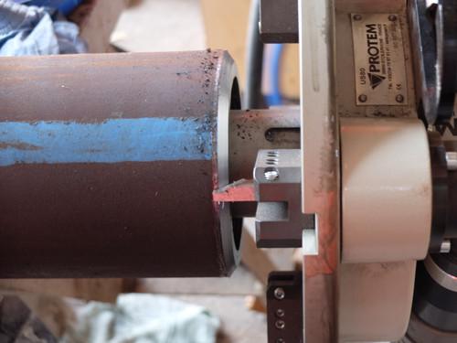 US80E - Machine à chanfreiner les tubes avec moteur electrique