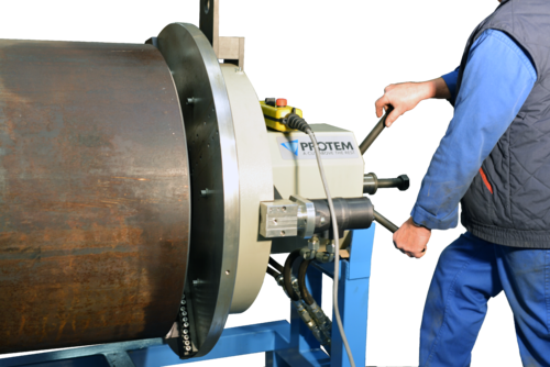 US450HY -  Cтанок для снятия фасок с гидравлическим приводом