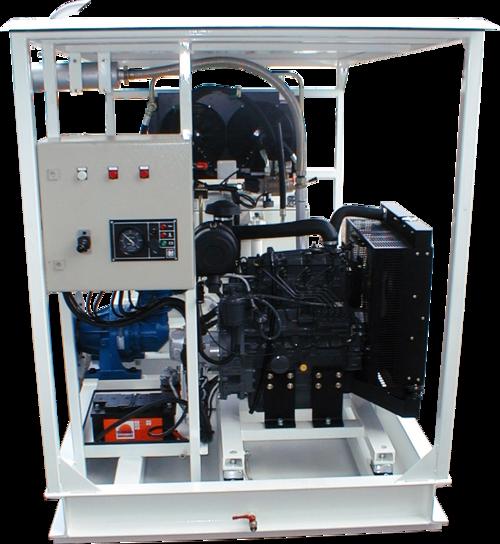 HY-HPP-D15 - Centrale hydraulique a moteur thermique Diesel 15 kW