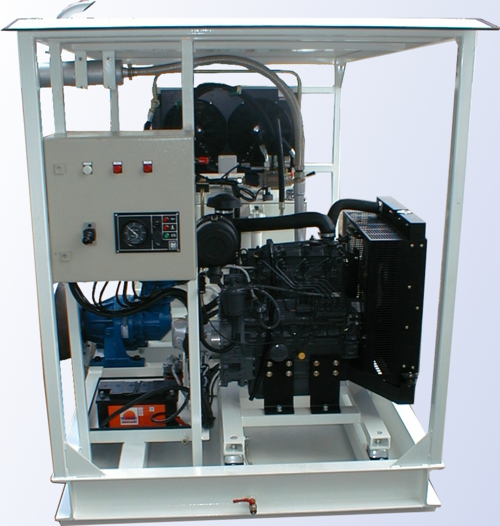 HY-HPP-D85 - Centrale hydraulique a moteur thermique Diesel 85 kW