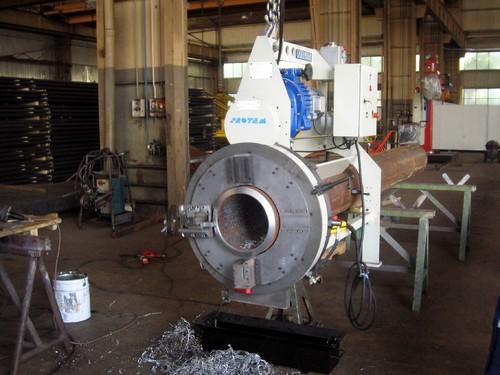 TNOFAB-4-12 - Machine à couper et à chanfreiner haute capacité