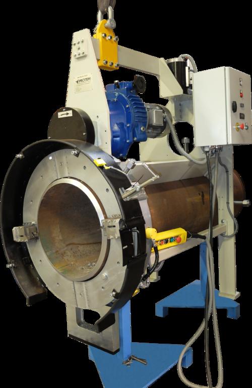 TNOFAB-12-24 - Machine à couper et à chanfreiner haute capacité