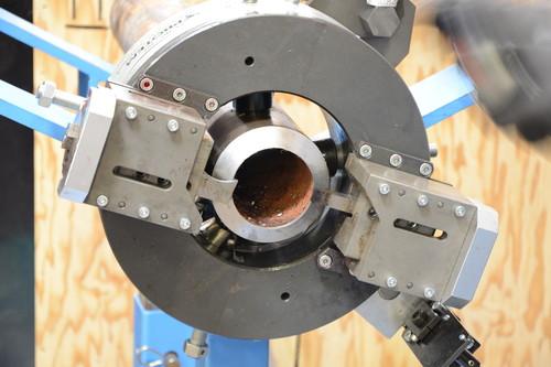 TTNG168 - Станок для резки и снятия фасок с пневматическим приводом для труб от 2