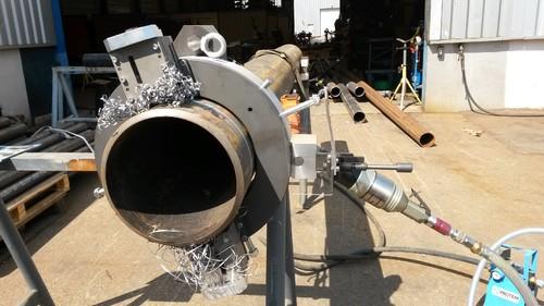 TTNG273 -  Станок для резки и снятия фасок с пневматическим приводом для труб от 6
