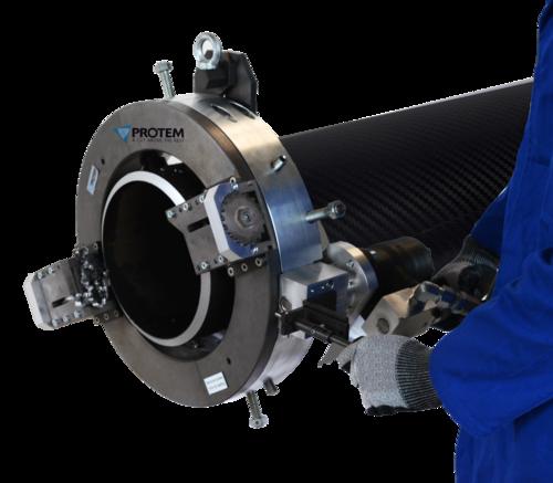 TTNG323 -  Станок для резки и снятия фасок с пневматическим приводом для труб от 8