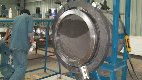 TTNG1016 -  Станок для резки и снятия фасок с пневматическим приводом для труб от 32