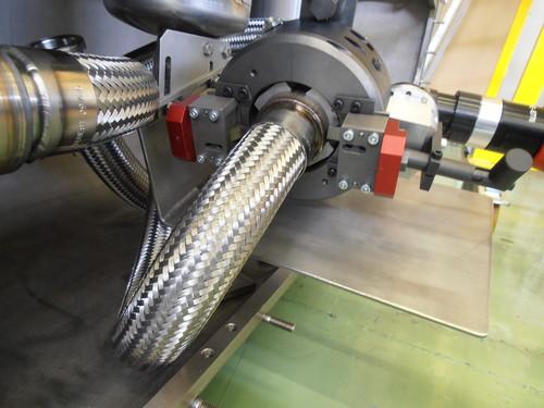 TTSNG141 - Machine à couper et chanfreiner des tubes de 73 à 141 mm