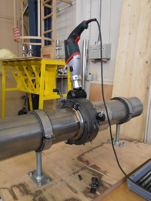 TTSNG193 - Machine à couper et chanfreiner des tubes de 114 à 193 mm