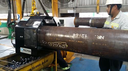 PFM-414 - Machine à chanfreiner à grande vitesse pour pipelines de 4