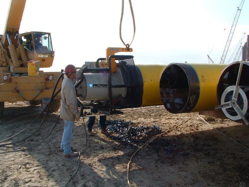 PFM-3848 - Machine à chanfreiner à grande vitesse type US820-HSB pour tubes 38