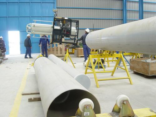 US1020HSB - Machine à chanfreiner à grande vitesse pour pipelines de 48