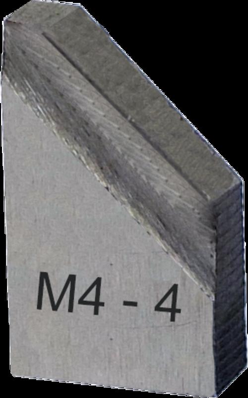 O-SM8-M4-4-H-73 Chanfreinage 45°, tube épaisseur 4 mm