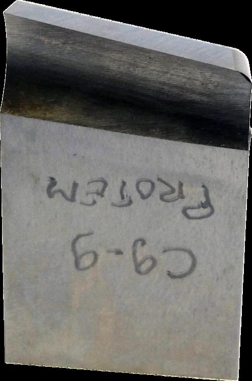 O-US-C9-9-H-29 Chanfrein en J 10° avec rayon de 1.5