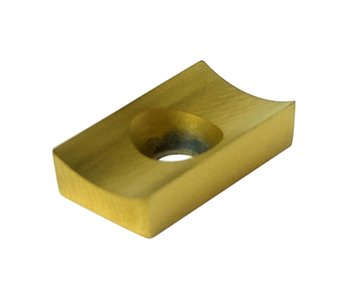O-SE-P1-3.3-C-T-20A Plaquettes pour SE25, matière carbure, revêtement : TiN