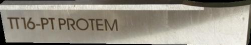 O-TTN-TT16-8-H-PT Outil pointe, pour tubes de 90 mm d'épaisseur maximum, largeur 8 mm