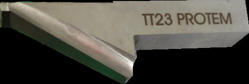 O-TTN-TT23-25-H-23 Outil à chanfreiner 30°, double chanfrein, pour tubes de 50 mm d'épaisseur