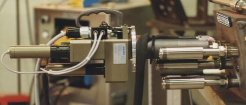 MACHINE DE SOUDAGE TIG ORBITAL Pour fusion de lèvres de cannes chauffantes immergées pressuriseur K15/SNA