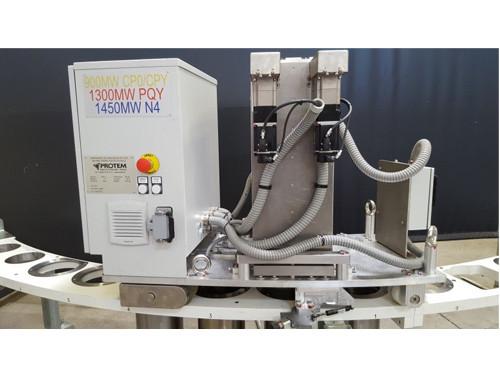 Machine de Nettoyage des Taraudages de Cuve de Reacteur Nucleaire